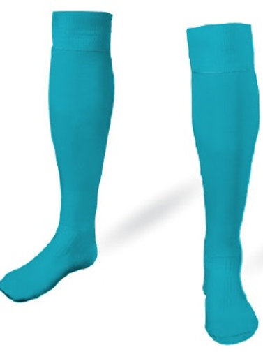 B1USA Goal Keeper Game Socks Teal