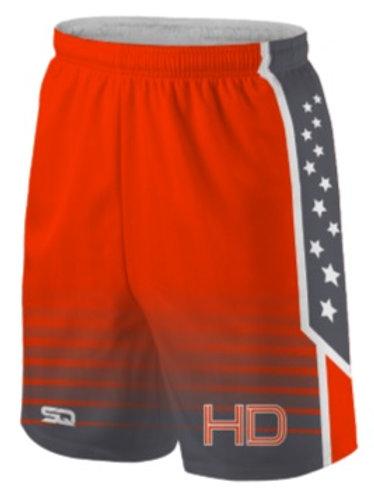 HD Game Shorts Orange