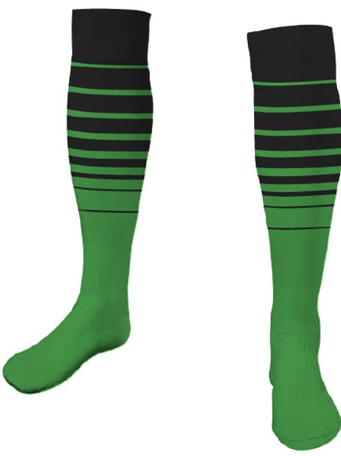 INTER FL Player Game Socks Black-Green