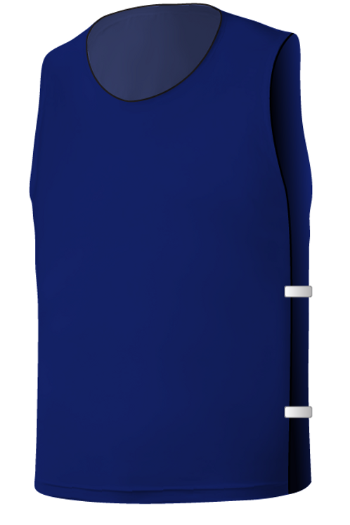SQ Training Bib - Dark Blue Blank with Elastic