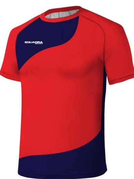 Red / Navy Jersey