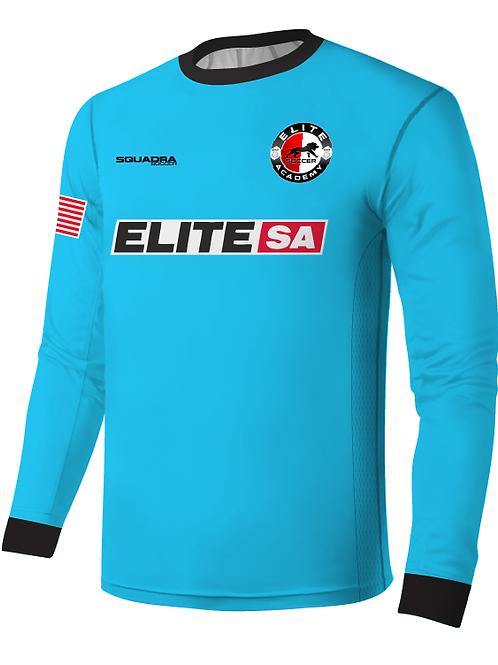 Elite SA LS GK Game Jersey Turquiose (Home)