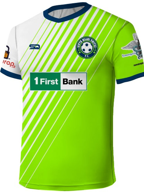 SMUFC 2018 Game Jersey Lime-White
