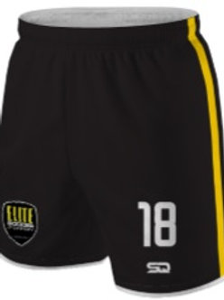 JRS-ESA Game Shorts Black-Gold