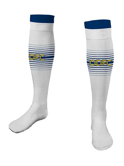 ODFC White Game Socks