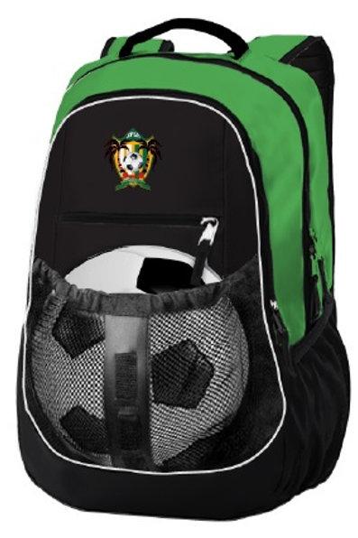 SPSA Backpack Black-Green (Ball not included)