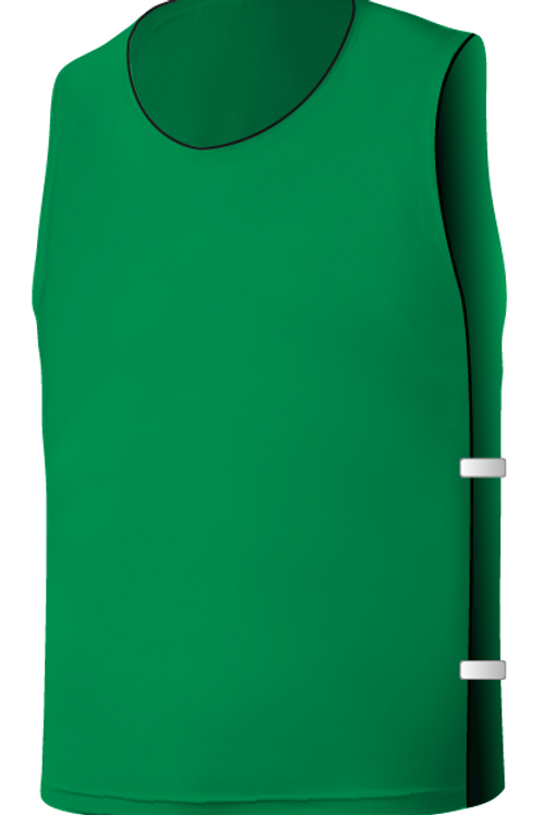 SQ Training Bib - Green Blank with Elastic