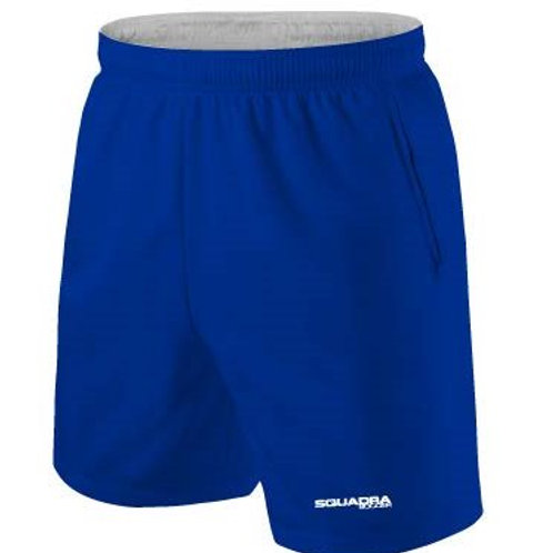 Royal Blue Shorts with Pockets