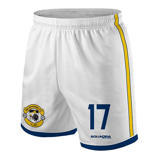 ODFC White Game Shorts