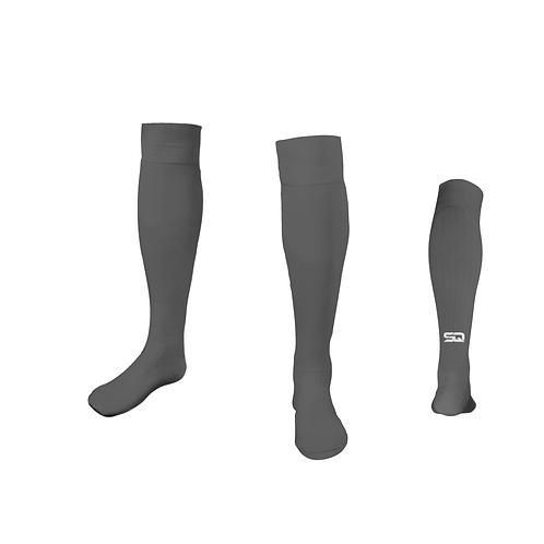SQ Athletic Socks - G Light Gray (Pack of 6)