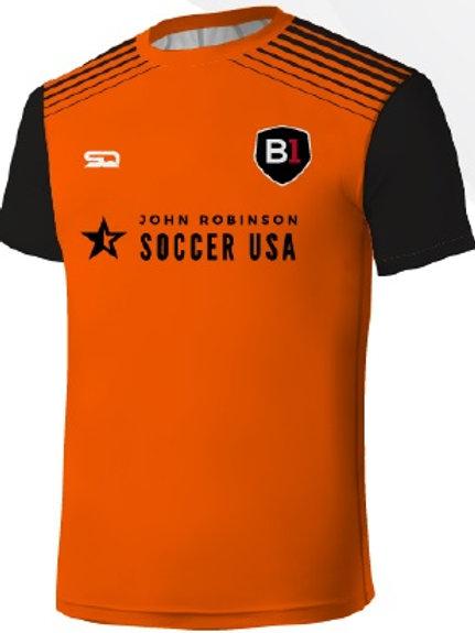 B1USA Player Training Jersey Orange-Black