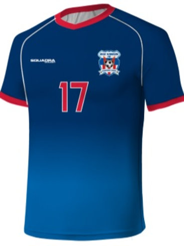 HEAT STRIKERS Player Game Jersey Blue (Home)