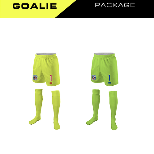 Heat Strikers Goal Keeper Package (Bottoms)