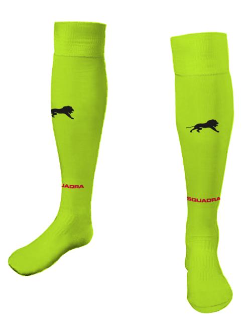 Elite SA Game Socks Neon Yellow