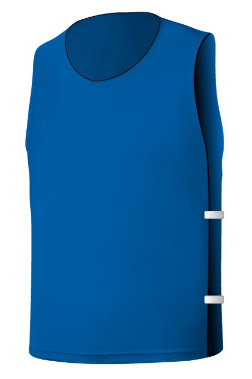 SQ Training Bib - Blue Medium Dark Blank with Elastic