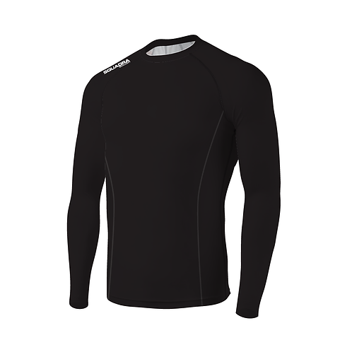SQUADRA Compression Jersey LS Black