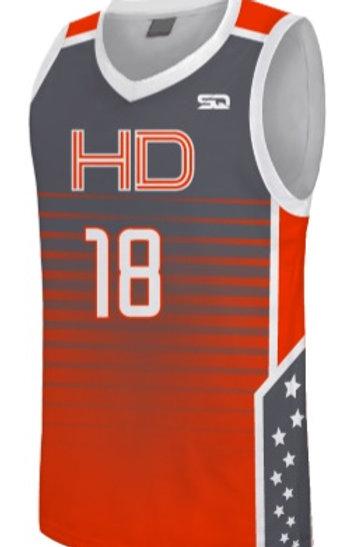 HD Game Jersey Orange