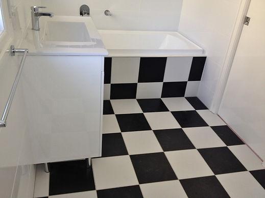 Bathroom and laundry tiling Brisbane Northside
