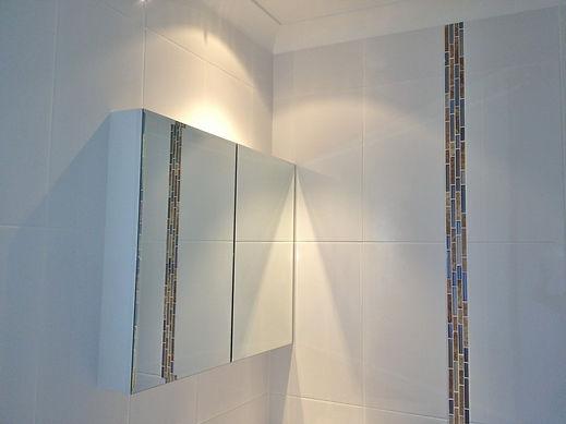 Bathroom accessories light and storage Brisbane Northside