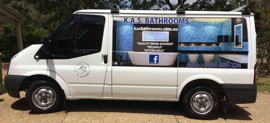 KAS Bathrooms and Keith Strachan complete new bathroom renovations wet rooms spa baths laundries and disabled bathrooms on the Brisbane Northside