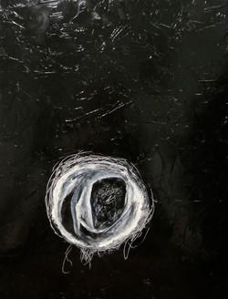 Portrait of three ghosts I