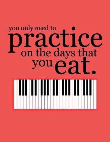 Practice encouragemet