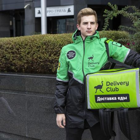 «Ситимобил» открыл водителям доступ к заказам Delivery Club в Москве