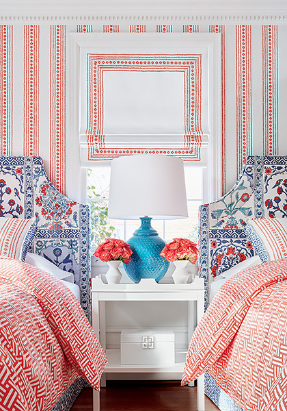 Thibaut Ceylon Collection Wallcoverings and Fabrics