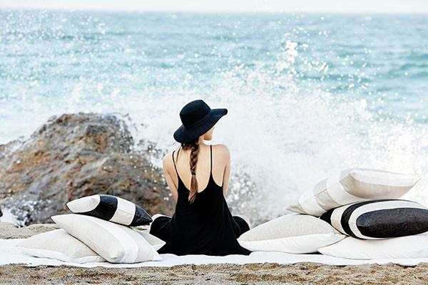 Beach ready fabrics from S. Harris - Photo courtesy of Fabricut