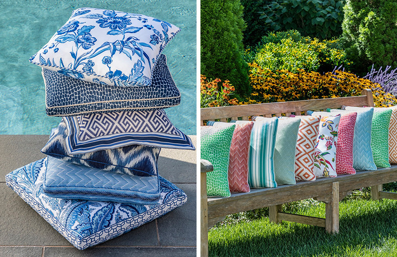Brunschwig & Fils En Vacance Collection outdoor fabrics
