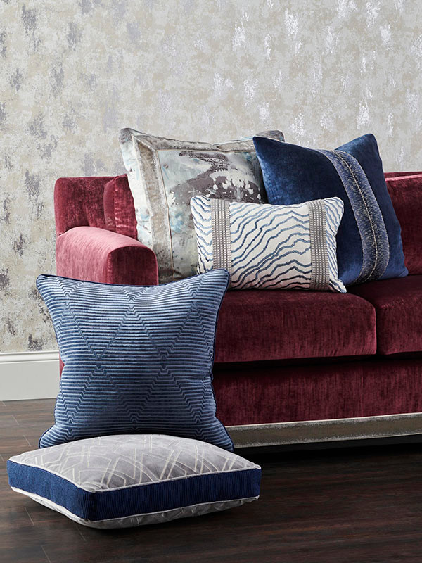 Fab and Funky Pillows - Photo courtesy of Fabricut