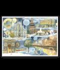 """Puzzle 50x70 """"Milano"""" LineaGoccioline di Mirka Perseghetti"""