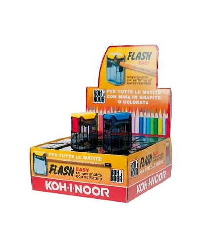Temperamatite 1 foro con serbatoio KOH I NOOR Flash easy