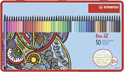 STABILO Pen 68 confezione da 50
