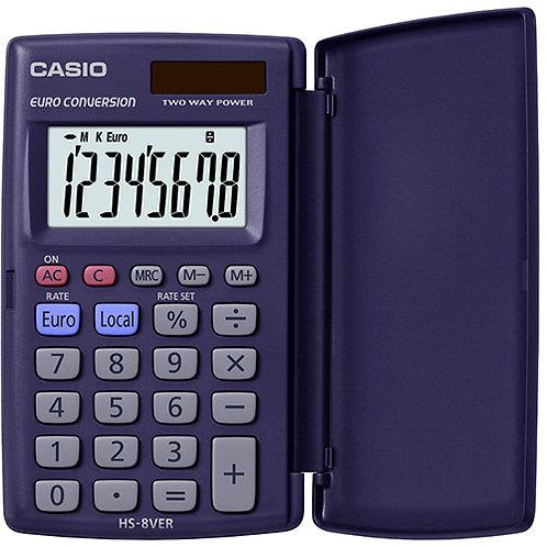 Calcolatrice tascabile EURO CONVERTITORE CASIO HL-8ver