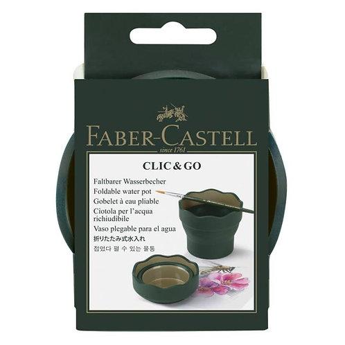Scodellino Clic & Go per acqua FABER CASTELL