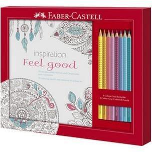 Set matite colorate con album da colorare MANDALA FABER CASTELL