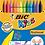 Thumbnail: Set 12 pastelli colorati Plastidecor BIC KIDS