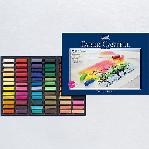 Soft pastels mini confezione da 72 FABER CASTELL