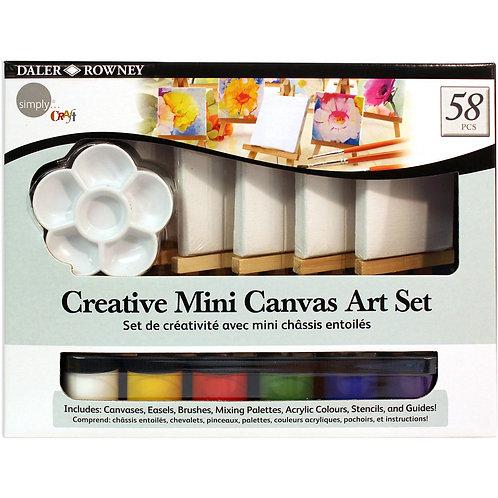 Creative mini canvas art set DALER ROWNEY