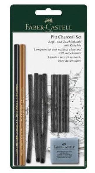 Carboncini Pitt blister FABER CASTELL