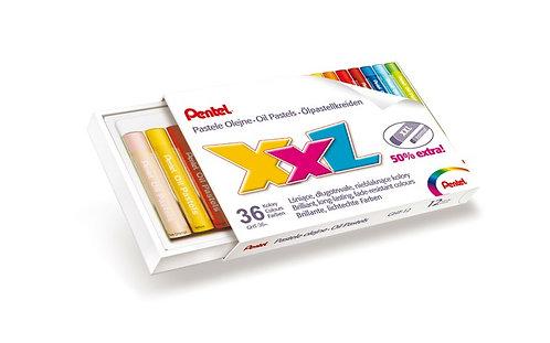 Pastelli ad olio PENTEL XXL confezione da 36