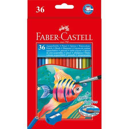 Matite acquerellabili confezione da 36 matite FABER CASTELL