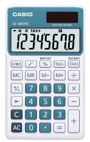Calcolatrice tascabile CASIO SL-300NC