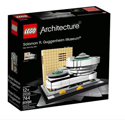 """LEGO Architecture """"Museo Solomon R. Guggenheim"""""""