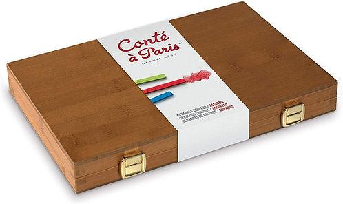 Cassetta Bamboo 48 carrè colorati CONTE' A PARIS