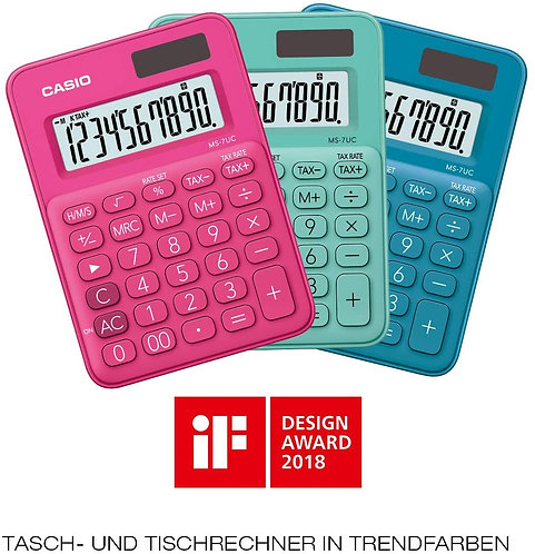 Calcolatrice CASIOMS-7UC