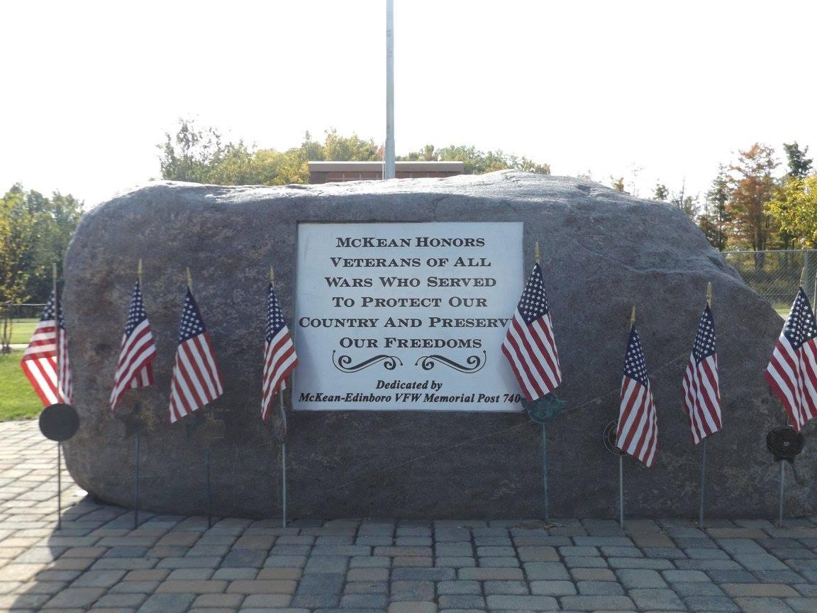Veterans Wall Rock