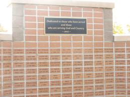 Veteran's Wall
