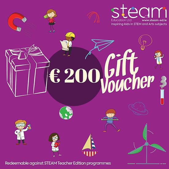 Gift Voucher: €200